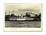 Foto Hapag, Dampfschiff Vorwarts, Seebaderdienst