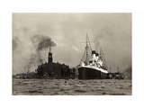 Hamburg, HSDG, M.S. Monte Cervantes, Dampfschiff