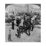 Market, Eyre Square, Galway, Ireland, C.1900