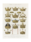 French Crowns of 6th Century to the 11th Century