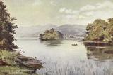 Islands on Lake Windermere