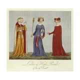 Ladies of High Rank of the 14th Century