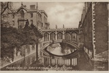 St John's College, Bridge of Sighs, Cambridge