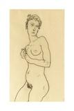 Standing Nude, 1918