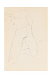 Kneeling Female Nude, 1912
