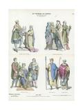 Frankish Costumes, 10th Century