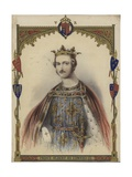 Portrait of Prince Albert as King Edward III