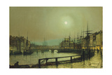 A Moonlit Harbour, 1883