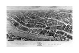 Panoramic View of Liverpool 1847