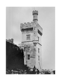 Tower at Lismore Castle, County Waterford, Ireland, C.1854