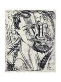 Self-Portrait with Cigarette, 1915