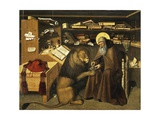 St. Jerome in His Study, Circa 1445