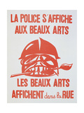 Poster from the Student Revolt of May 1968 in Paris
