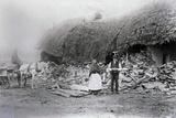 Mcgrath's House, on the Vandeleur Estate, after Eviction, Ireland, 1888