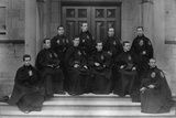 A Group of Passionist Priests at the Maynooth Seminary, Ireland, C.1895