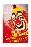 """Programme for """"""""Octopussy's Circus"""""""", from the film 'Octopussy', 1983"""