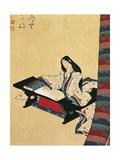 Murasaki Shikibu, 10th-11th Century Author and Poet from the Fujiwara Family, Kakemono