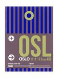 OSL Oslo Luggage Tag 2