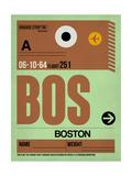 BOS Boston Luggage Tag 1