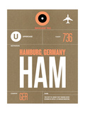 HAM Hamburg Luggage Tag 2
