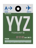 YYZ Toronto Luggage Tag 1