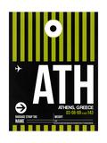 ATH Athens Luggage Tag 2