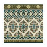 Turquoise Textile I