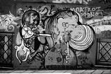 Graffiti in Athens Greece