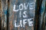 Love is Life Graffiti