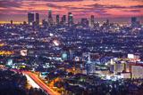 Downtown Los Angeles, California, USA Skyline at Dawn.