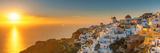 Sunset over Oia Santorini