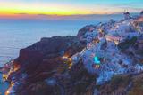 Oia Village at Night, Santorini