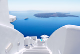 White Stairs at Santorini