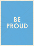 Be Proud Typography