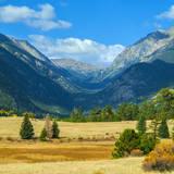Rocky Mountains National Park Vista, Colorado,USA