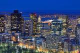 Aerial View of Downtown Boston, Massachusetts, Usa.