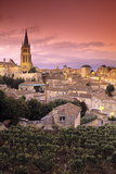 St. Emilion Church in Gironde , Aquitaine , France