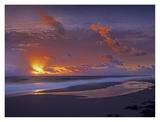 McArthur beach at sunrise, Florida