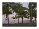 Moon setting, Playa Carillo, Guanacaste, Costa Rica