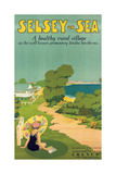 Poster Advertising Selsey-On-Sea, 1922