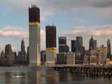Manhattan Skyline including Twin Towers