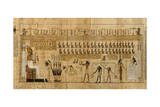 Papyrus from 'Book of the Dead' Depicting Weighing of Souls