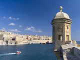 View of Valletta with Grand Harbor Seen from Senglea, Valletta, Malta