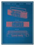 Vintage Boombox Blueprint