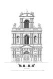 Paris, France - Eglise de Saint Gervais Et Saint Protais