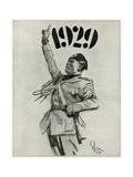 Mussolini, 1929 Poster