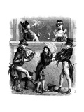 Napoleon and Josephine Enjoy Street Musicians