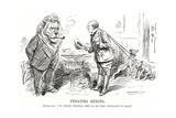 Winston Churchill - Punch Cartoon
