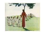 Christ with Children