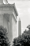 Lincoln Washington Memorials II